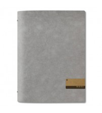 "Menuholder ECO grey | A4 6 env.| ""menu"" label"