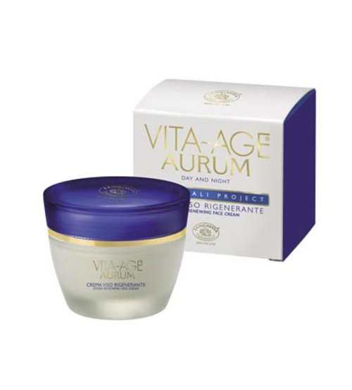 VITA-AGE AURUM Stems Regenerating Face Cream - Container 50 ml Jar