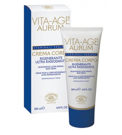 VITA-AGE AURUM Regenerating Ultra Firming Body Cream - Container 200 ml tube