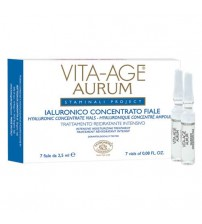 VITA-AGE AURUM Hyaluronic Concentrate Vials - Container 7 vials 2,5 ml