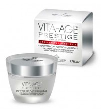 VITA-AGE PRESTIGE Face Cream With Colloidal Platinum - Container 50 ml jar
