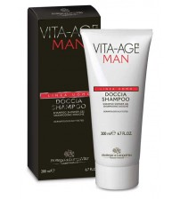 VITA-AGE MAN Shampoo Shower Gel - Container 200 ml tube