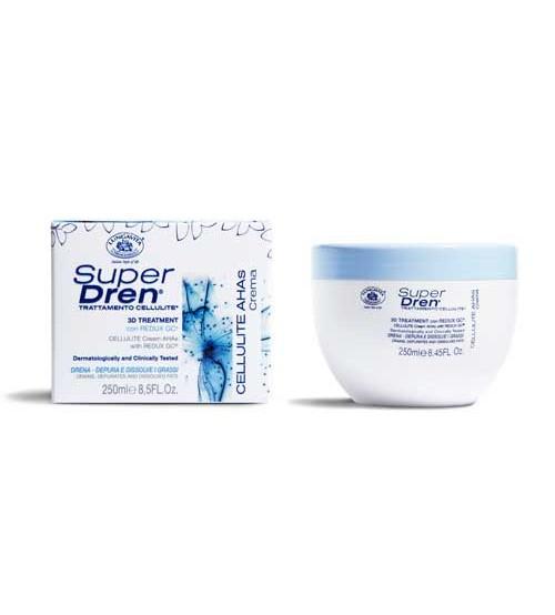 SUPER DREN Cellulite Cream AHAS - Container 250 ml pot