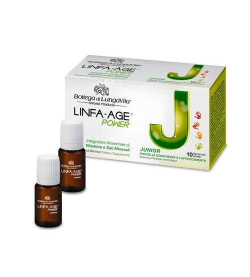 LINFA-AGE POWER Junior - 10 vials