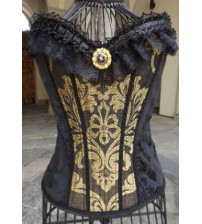 Victiorian Corset  Black Memories 01