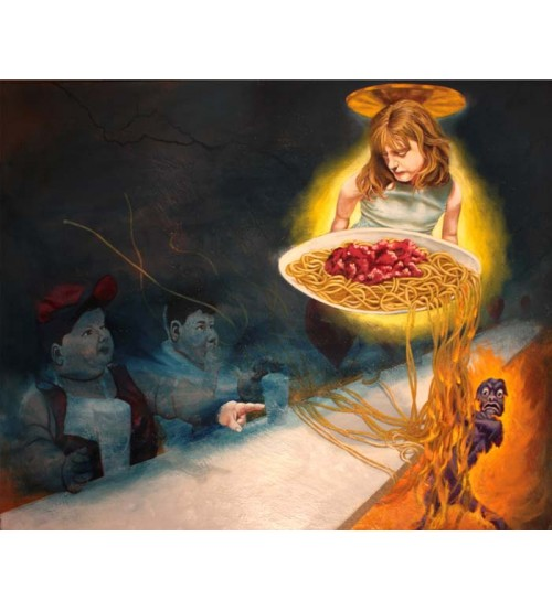 THE SPAGHETTI ANNUNCIATION