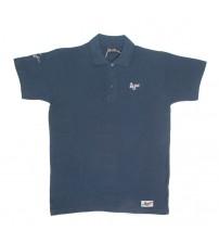 Giacomo Agostini Short-Sleeve Polo Classic Navy