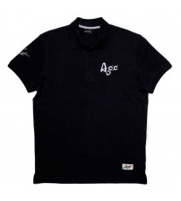 Giacomo Agostini Short-Sleeve Polo Legend Black