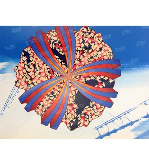 People Together. Original Serigraph. Limited edition of 25