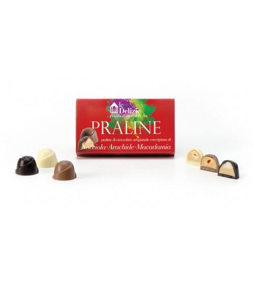巧克力果仁糖含有奶油榛子、花生和澳洲坚果