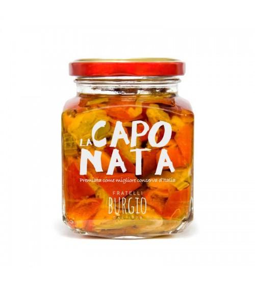 意大利西西里岛传统混合蔬菜酱  314g