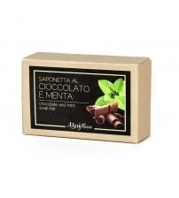 纯天然巧克力和薄荷香皂    100g