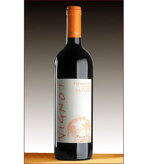 VIGNOT-Piemonte Barbera 2013DOC 750 ml. (12,5%)