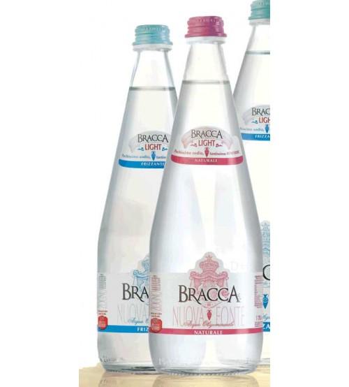 Bracca Nuova Fonte 玻璃瓶 带气泡矿泉水 750ML