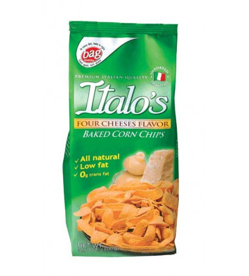 Italo's 4奶酪口味玉米片100克