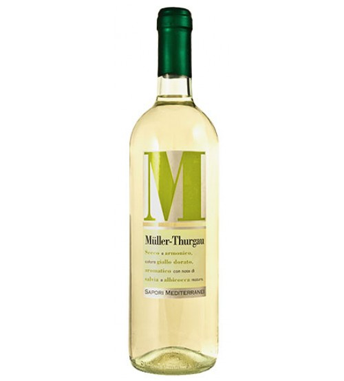 Muller Thurgau dlle Venezie I.G.T. 12° - 0,75 lt - Sapori Mediterranei