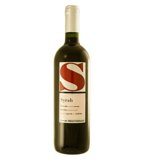 Syrah Sicilia IGT 13° - 0,75 lt.- Sapori Mediterranei