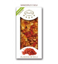 CRUNCHY BAR WHITE ALMOND WITH GOJI ORGANIC