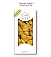 CRUNCHY BAR WHITE ALMOND ORGANIC