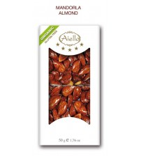 CRUNCHY BAR BLACK ALMOND ORGANIC