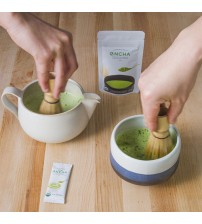 Encha Matcha Starter Kit with Traditional Whisk