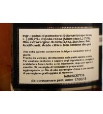 意大利卡拉布里亚大区红洋葱意大利面酱   420g