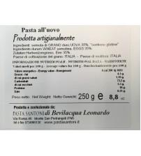 意大利纯手工制作 Tagliolini 鸡蛋面   250g