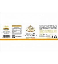 意大利西西里岛纯手工甜奶油杏仁涂抹酱  200g