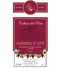 Barbera d'Asti Collina  del Prete 2013-D.O.C.G. - 750 ml  (14% vol.)