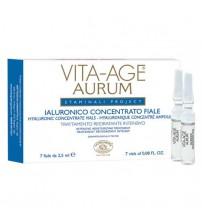 VITA-AGE AURUM Hyaluronic Concentrate Vials - Container 7 vials 2,5 ml