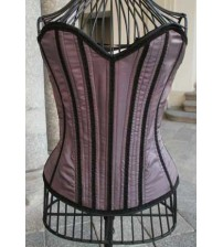Victiorian Corset  Purple Memories 01