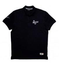 Giacomo Agostini Short-Sleeve Polo Legend Black