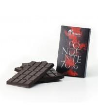 Le Delizie Piazza dei Mestieri  70%黑巧克力 75g