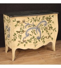 Italian lacquered and painted dresser