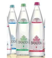 Bracca Nuova Fonte 玻璃瓶 微带气泡矿泉水 1L