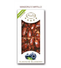 CRUNCHY BAR WHITE ALMOND WITH BLUEBERRY ORGANIC