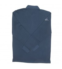 Giacomo Agostini Long-Sleeve Polo Classic Navy